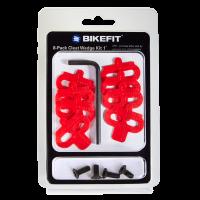 BikeFit SPD wedge 1° 8-pack with screws
